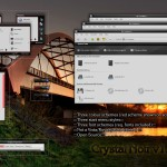Crystal Noir theme for windows xp
