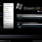 Dream LH theme for windows xp