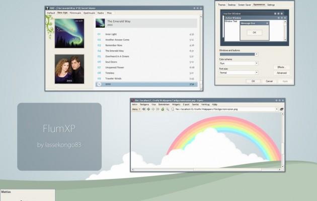 Flum theme for windowsXP