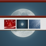 HollyJolly theme for windows xp