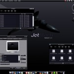 JetBlack windows xp theme