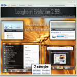 Longhorn Evolution 2.99 Theme for Windows 7
