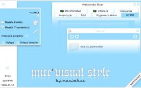 MIce II theme for window xp