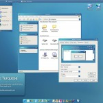 Blue Turquesa theme for windows xp