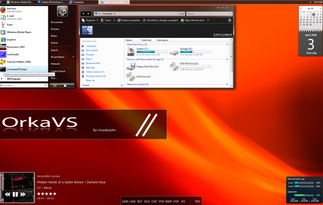 Orka Windows Vista Theme