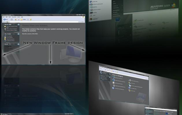 QueVista3 windows XP theme
