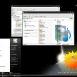 Razor Vista theme for windows xp