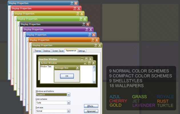 RoyaleDX windows xp theme