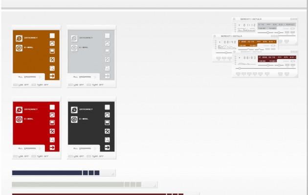 Serenity theme for windows xp