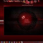 Shatter Red Visual Style for Windows 7