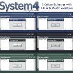 System windows xp theme