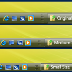 Thin Taskbar Mod For windows xp theme