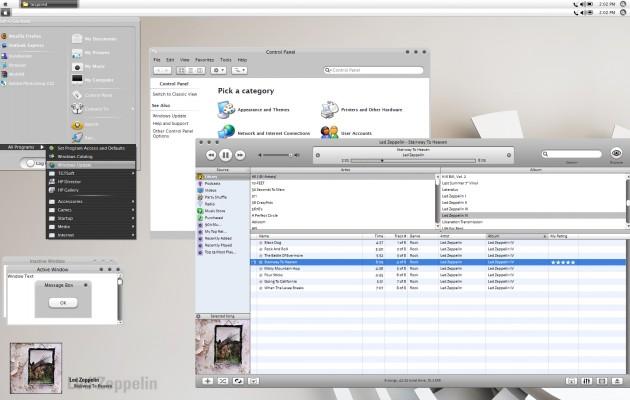 VS – Inspired windows XP theme