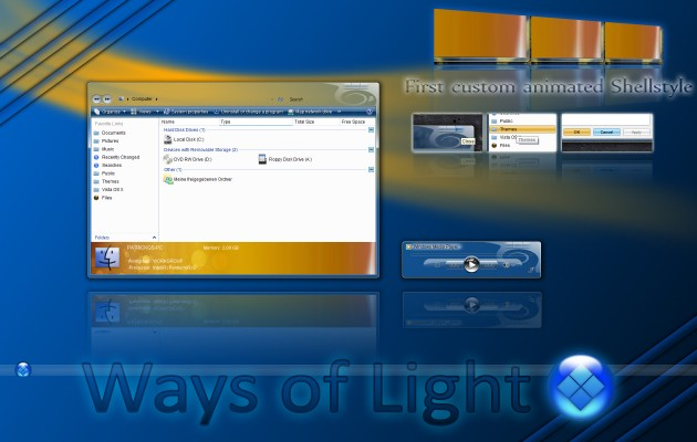 Ways of Light for Vista