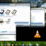 Windows7 Black Transparent windows xp theme