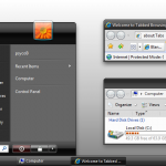 Zune Theme for Vista Basic