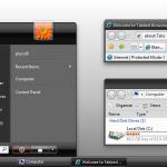 Zune Theme for Vista Basic