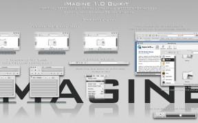 iMagine theme for Windows xp