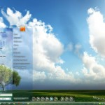 Sky Desktop Theme for Windows 7