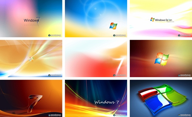 Windows 7 Colorful Themes