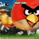 Angry Birds Visual Style for Windows 7