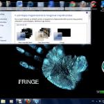 Fringe Desktop Theme for Windows 7