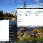 Glass Clear v.2 Theme for Windows 7