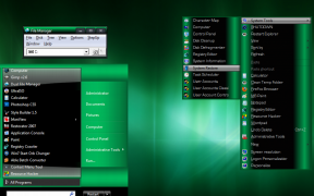 Green Final Theme for Windows 7
