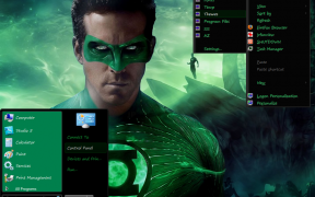 Green Lantern Final for Windows 7