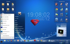 Super Blue Theme for Win 7