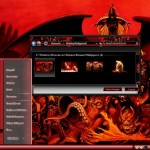 Demon Desktop Theme for Windows 7