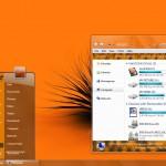 Orange Visual Style for Windows 7