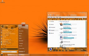 Orange Visual Style for Windows 7