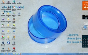 Attractive Bluish Desktop Style for Windows 7