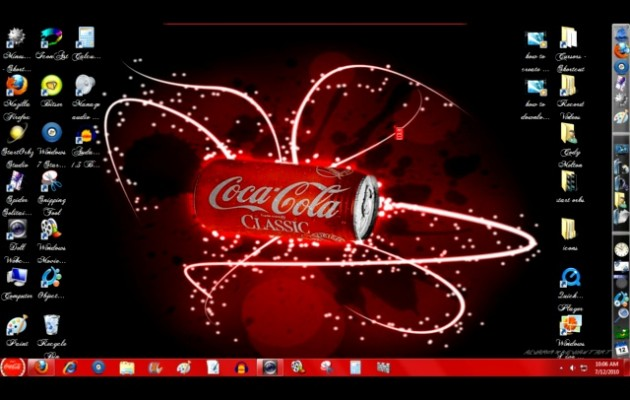 Coca-Cola Windows 7 Style