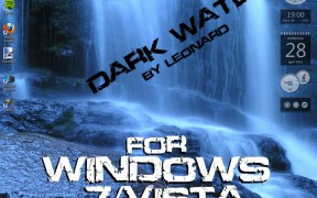 Dark Water Style for Windows 7