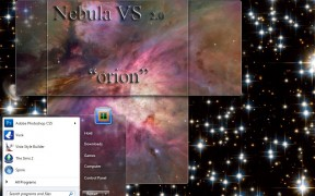 Nebula 2 Orion Desktop Theme for Win7