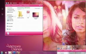 Vampire Diaries Pink Theme