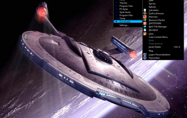 Win7 Star Trek Basic Theme