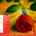 Theme 74ST Red for windows xp