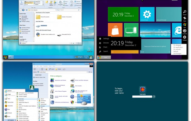 8 Skin Pack 6.0 Theme for Windows XP