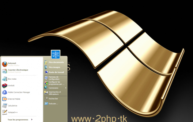 A Gold style for windows XP