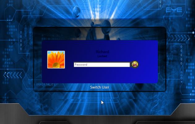 Blue Logon XP Theme