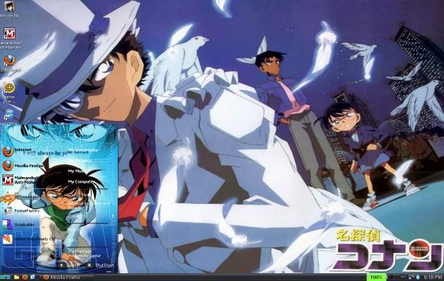 Detective Conan Theme For XP