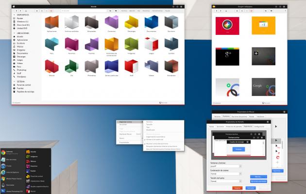 Google+ VS Theme for Windows XP