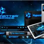 Hyperdesk Dark Matter 2011 Theme for Windows XP
