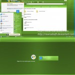 Live Remix 3.0 Green XP Theme