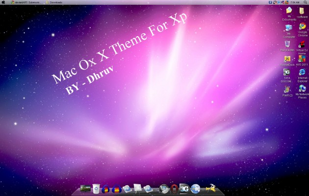 MAC OS X FOR XP
