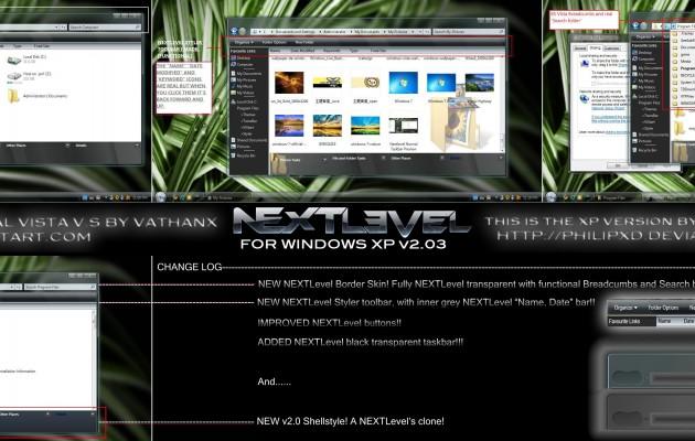 NEXT Level for Xp v2.03