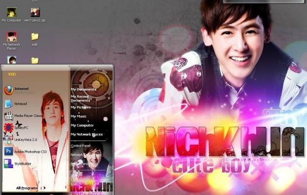 Nichkhun-2PM Theme for XP